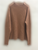 Ribbed Loose pullover-2color