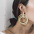 Gift Day Personality Trend Women's 3 Circle Earrings