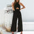 Gift Day Cross-Hanging Halter Jumpsuit