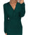 Gift Day Sexy Knee Length Solid V-Neck Office Bodycon Dress