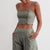Gift Day Camisole Casual Pants Suit