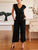 Gift Day Solid Color Fashion Lace Jumpsuit