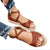 Gift Day Summer Plain Open Toed Thicken Sole Sandal