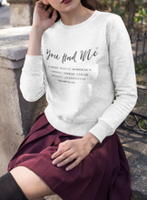 Load image into Gallery viewer, You Had Me At... Women's Sweatshirt - KATLIN & CO.