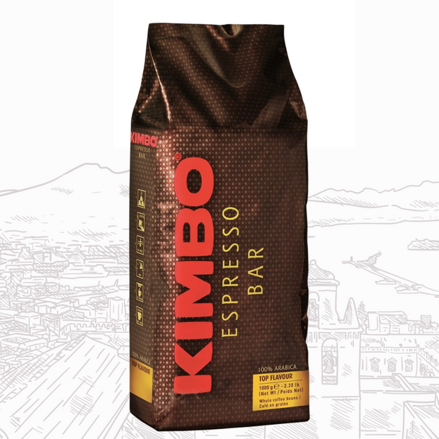 Kimbo Top Flavour 1Kg - Cafe Barocco Chile