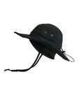 Black ZeuKnLu Hat Side View