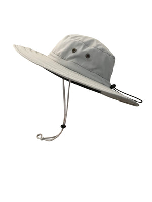 ZeuKnLu Glacier Gray Sun Hat Without Fleece Liner Side View