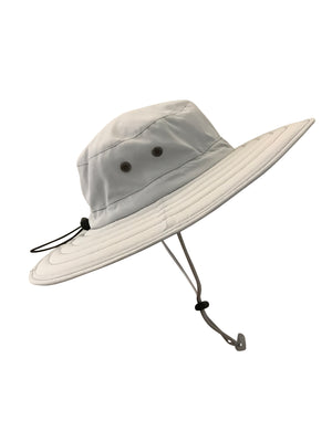 ZeuKnLu Glacier Gray Sun Hat Without Fleece Liner