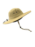 ZeuKnLu Hemp Sun Hat Without Fleece Liner Side View
