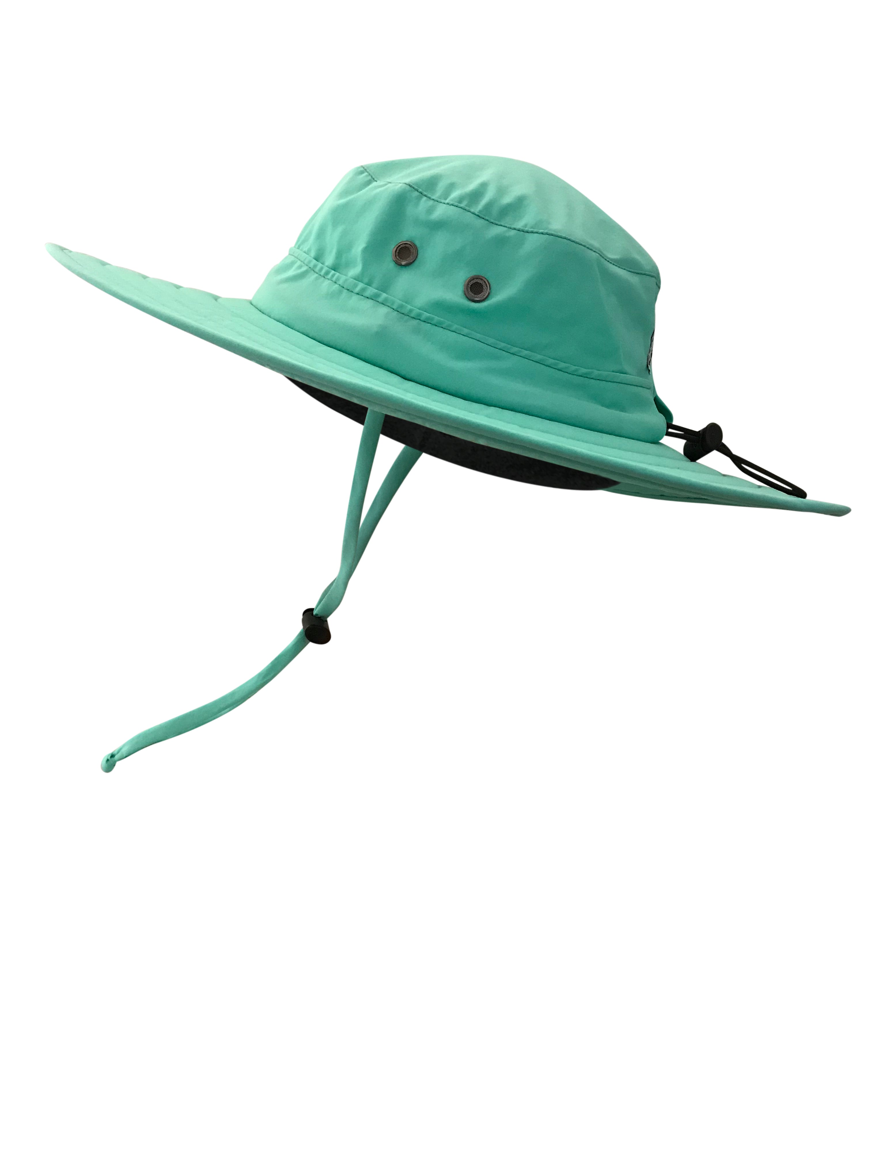 ZeuKnLu Lucite Green Sun Hat Without Fleece Liner Side View