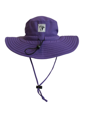 Ultra Violet ZeuKnLu Hat Without Fleece Liner Back View
