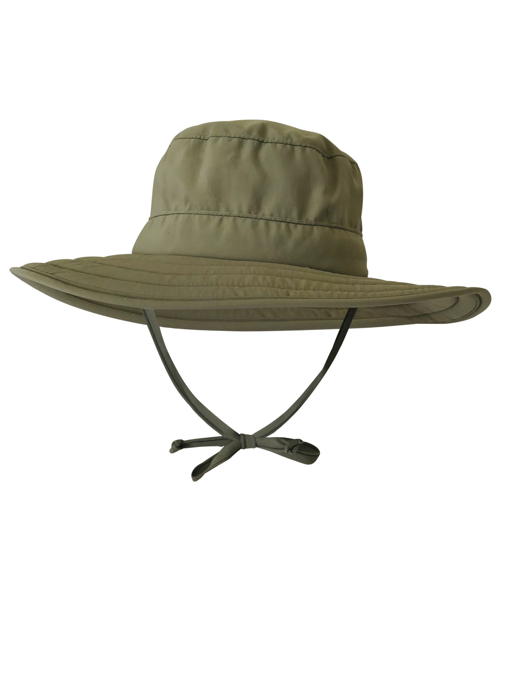 Children's ZeuKnLu Light Olive Drab ZeuKnLu Sun Hat Front View
