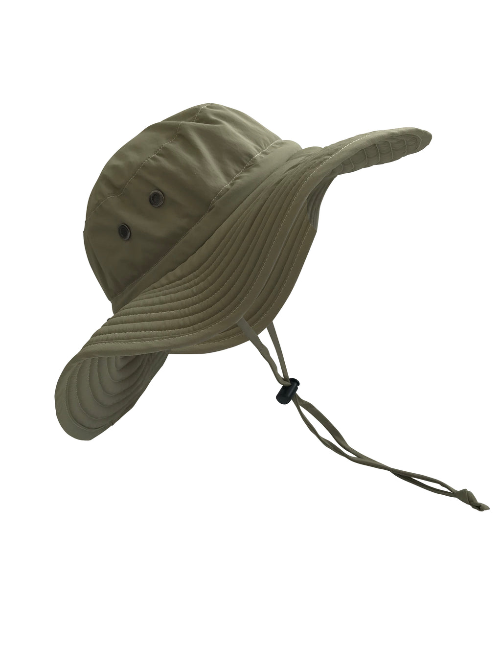 Light Olive Drab ZeuKnLu Sun Hat