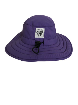 ZeuKnLu Ultra Violet Sun Hat Without Fleece Liner Back View