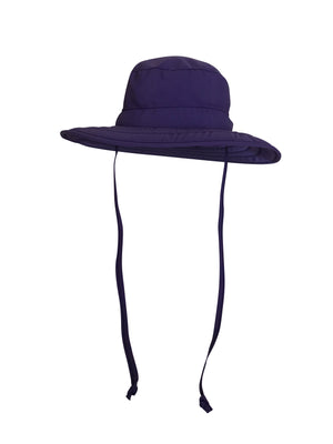 ZeuKnLu Ultra Violet Sun Hat with Liner Front View