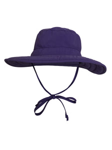 ZeuKnLu Ultra Violet Sun Hat Without Fleece Liner Front View