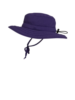 ZeuKnLu Ultra Violet Sun Hat Without Fleece Liner Side View