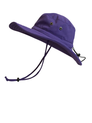 ZeuKnLu Ultra Violet Sun Hat Side View