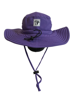 ZeuKnLu Ultra Violet Sun Hat Back View