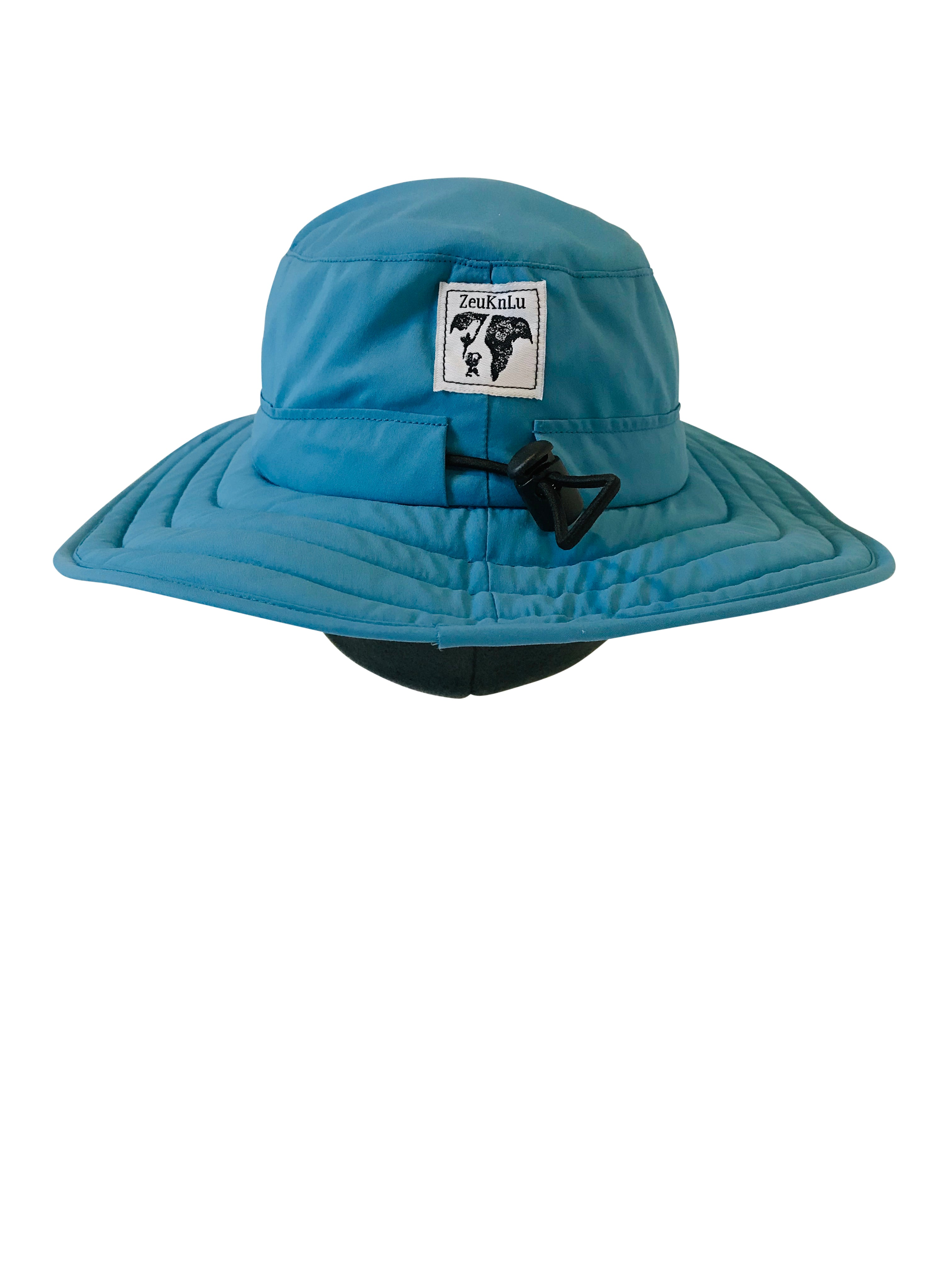 ZeuKnLu Niagara Sun Hat with removable liner back view