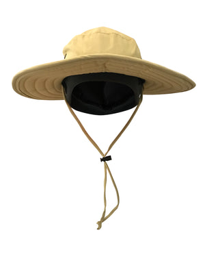 ZeuKnLu Hemp Sun Hat With Removable Fleece Liner Front View