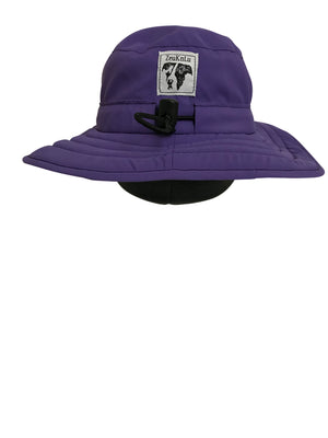 ZeuKnLu Ultra Violet Sun Hat with Liner Back View