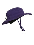ZeuKnLu Ultra Violet Sun Hat with Liner Side View