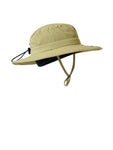 Children's ZeuKnLu Hemp Sun Hat With Removable Fleece Liner Side View