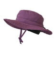 Children's ZeuKnLu Mulberry Sun Hat with Removable Fleece Liner Side View