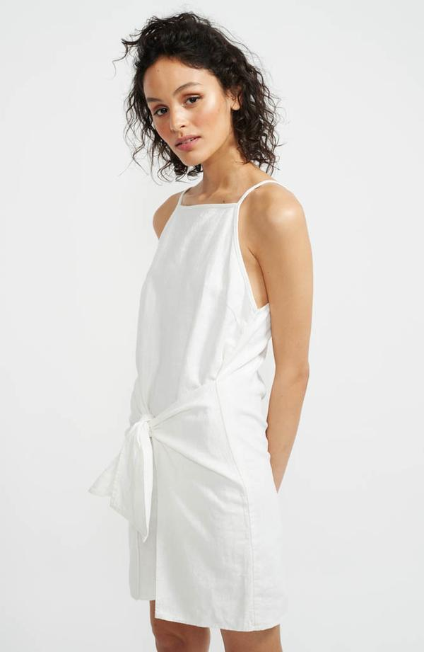 Staple The Label - Ethos Tie Front Dress