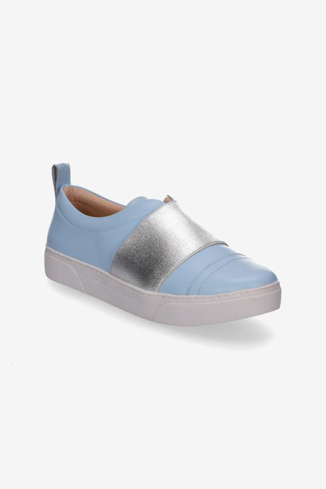 Hey Monday - Hailey Sneaker (Baby Blue/Silver)