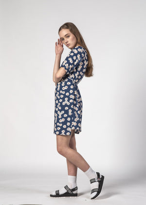 Thing Thing - Blossom Dress (Navy Bloom)