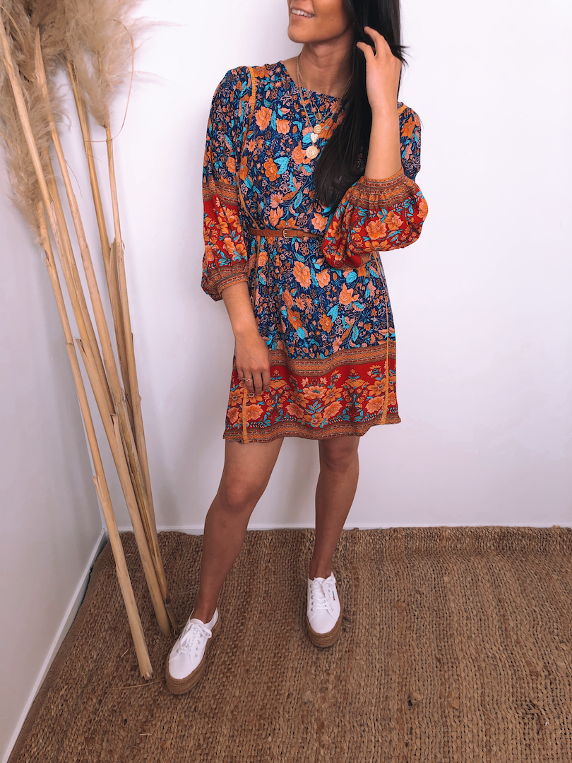 Marrakesh Smock Dress