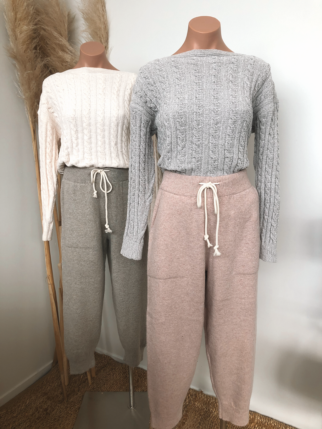 Hamptons Knit Joggers