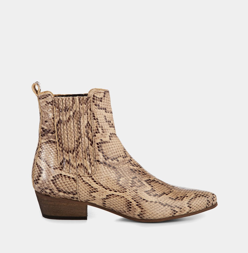 Ivy Lee - Bailey Boots - Faux Python