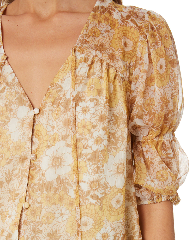 MinkPink Sunshine Floral Top