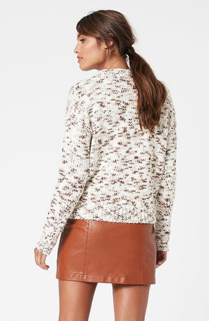 Minkpink - Maree Space Dye Knit (Natural Marle)