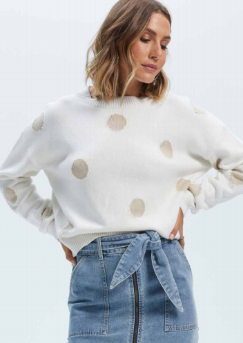 Staple The Label - Polka Sweater