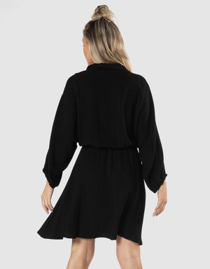 Sass- Rainey Dress (Black)
