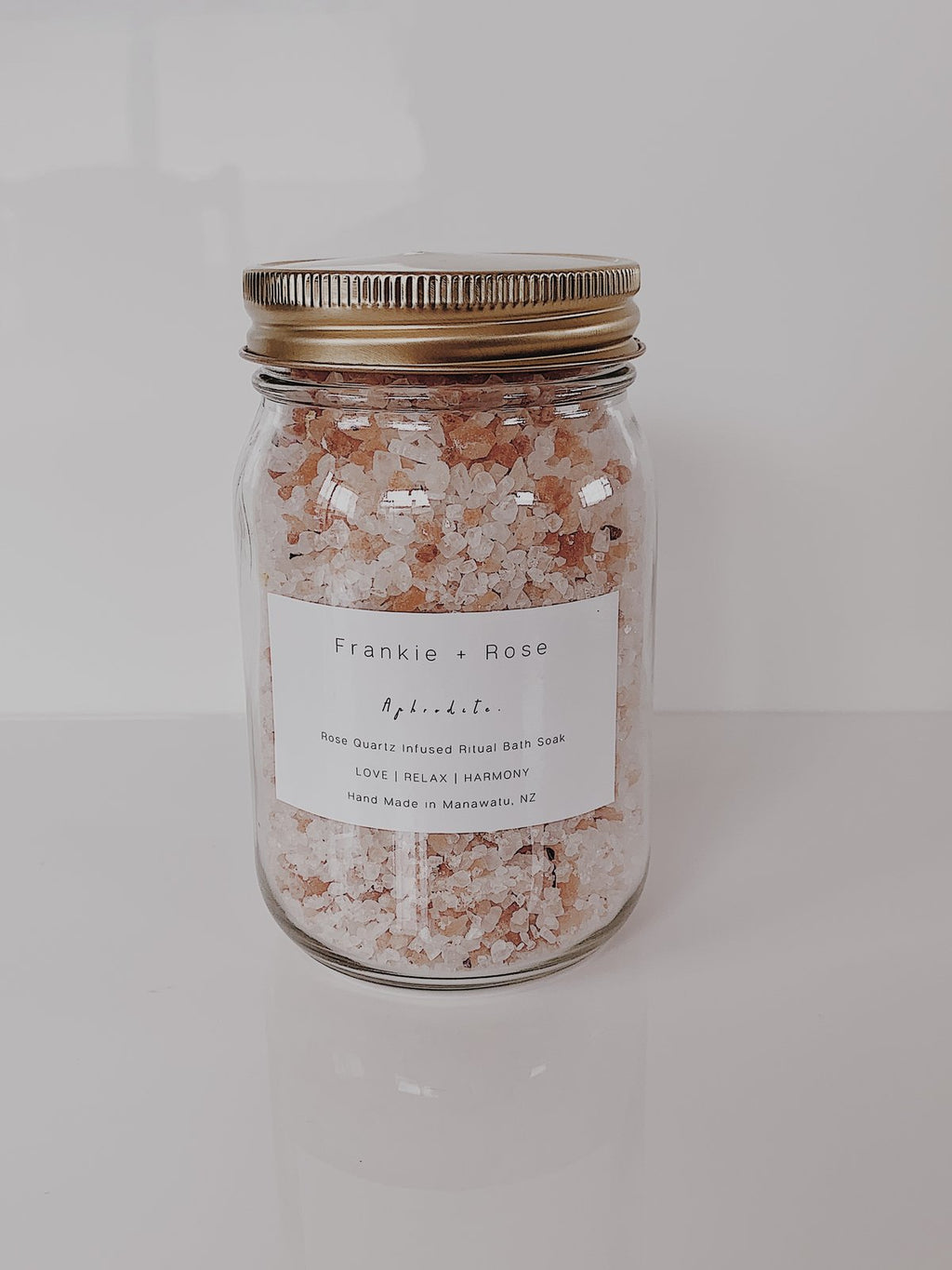 Frankie + Rose - Aphrodite Rose Quartz Infused Bath Soak