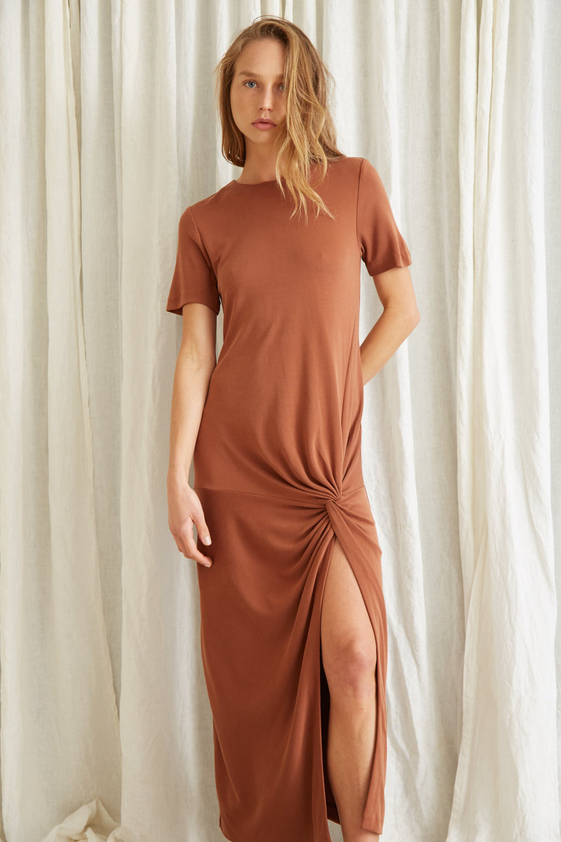 Third Form - Twisted Tee Dress