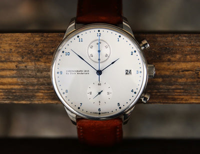 1815 Chronograph Brown Strap