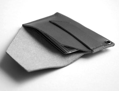 201 Charcoal Card Pouch by Posh Projects