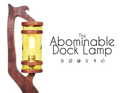 The Abominable Dock Lamp Series by MonsterKraft