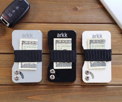Arkk Wallet – The Sleekest RFID Blocking Minimalist Wallet in The World