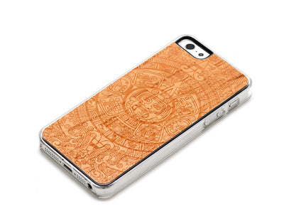 Aztec Calendar SE/5s Case by Carved