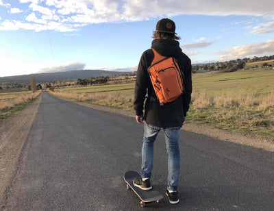 Feather Rider Multifunctional Snowboard Sling Bag