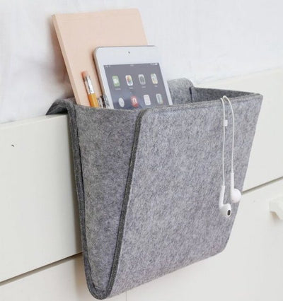 Felt Bedside Caddy by Kikkerland