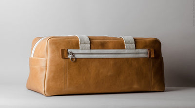 Leather Gym Bag by Hard Graft