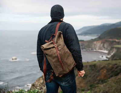 Leather Ruck Sack by Loyal Stricklin